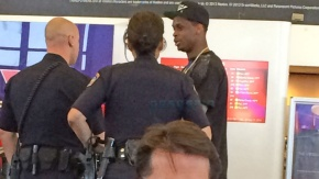 Geno Smith involved in a confrontation at LAX terminal
